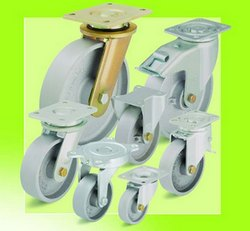 Применение чугунных колес