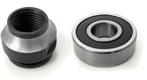 Составляющая промышленных колес, роликов и колесных опор – подшипники колес