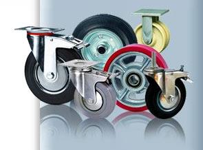 Сфера применения стальных колес и роликов