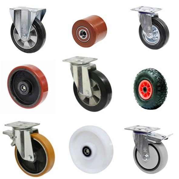 Что следует учитывать при выборе колес для тележек