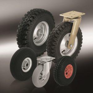 Колеса и ролики с пневматической шиной (6)