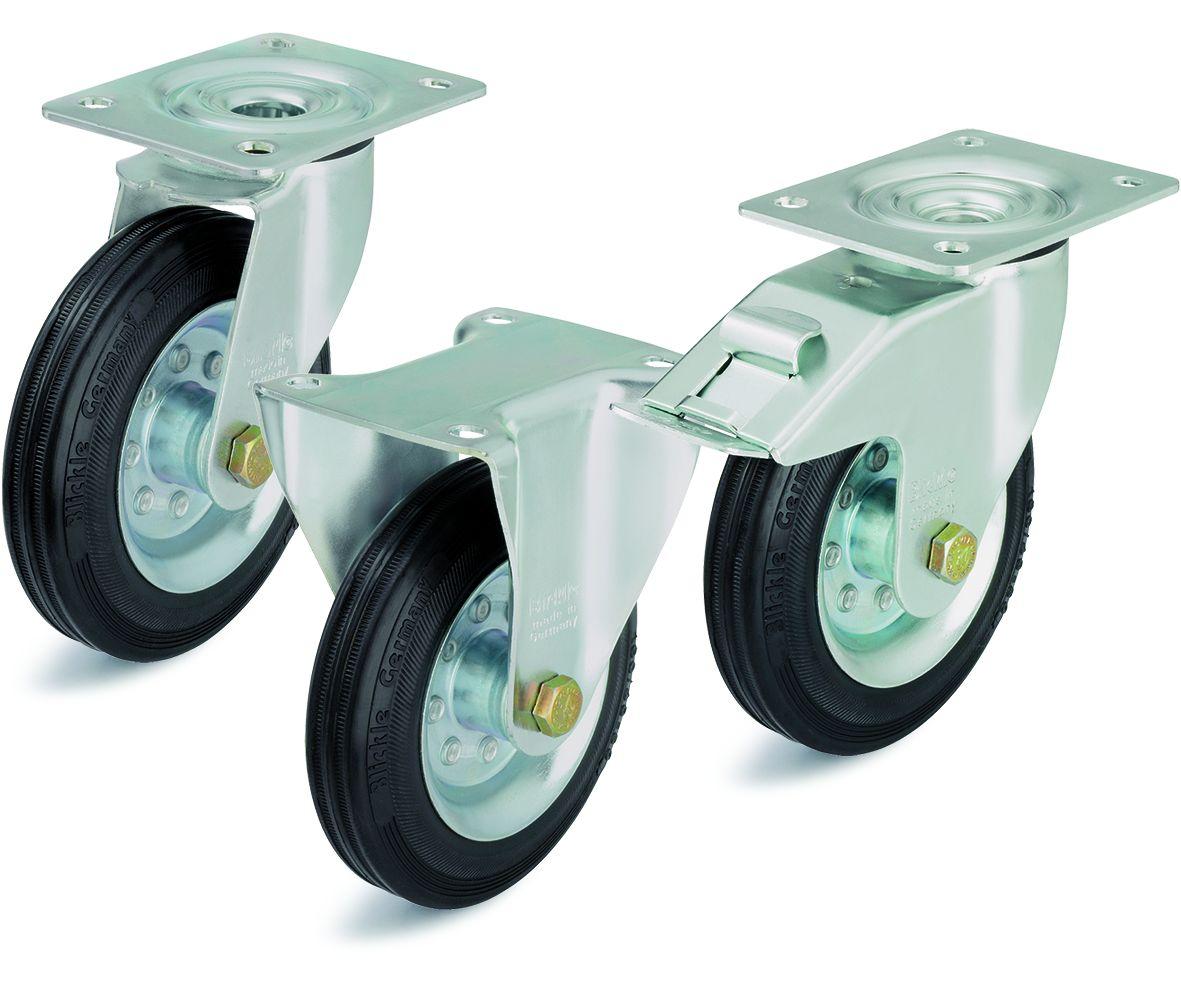 Область применения жаростойких колёс и роликов