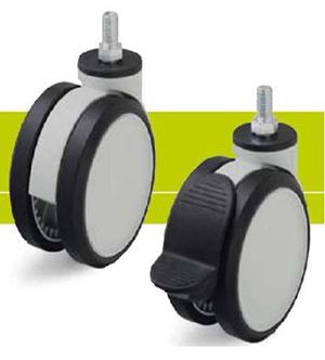 Поворотные колеса для тележек