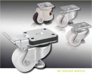 Рекомендации по выбору колес для тележек