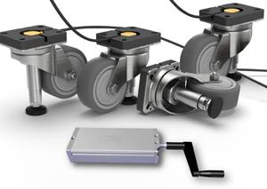 Гидравлическая система привода подъемного ролика