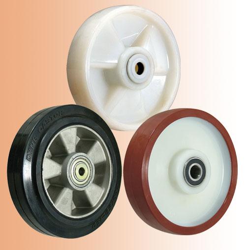 Как выбрать колеса и ролики для гидравлических тележек