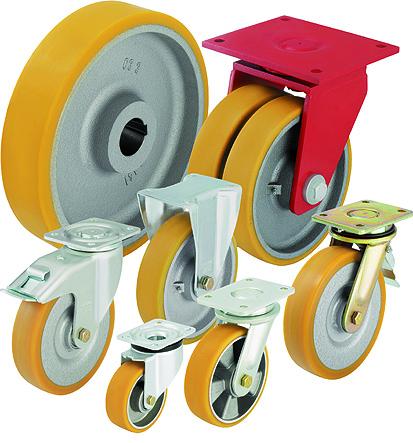 Критерии выбора колес и роликов Blickle