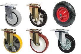 Качественные колеса для тележек по доступной цене